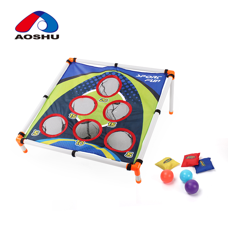 Children favorite sport series kids toy baffle plate mini soccer goal with inflator