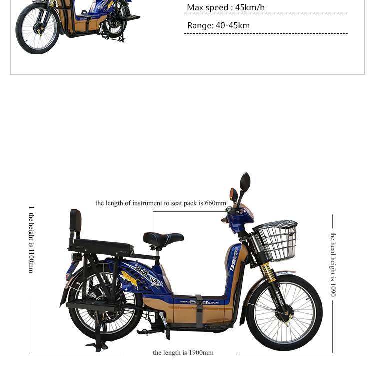 High quality manufacture fast 600W60V cheap adults electric bicycle with pedals