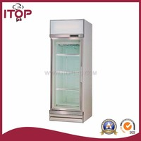 single-temperature refrigerated produce display cooler