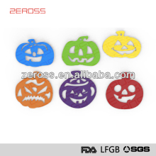 FDA and LFGB helloween shapped silicone place mat