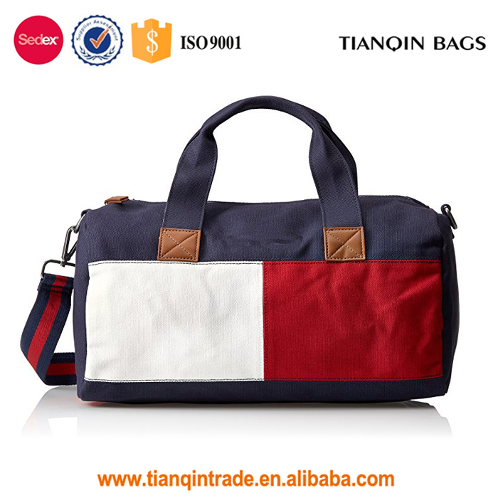 High Quality Travel Women'S Bag Flag Colorblock Mini Travel Duffel Bag For Man And Woman