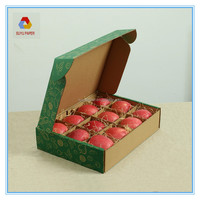 fruit paper packaging box ,apple packaging box