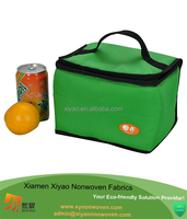 custom square promotional fruit and drink wine cooler bag with speaker