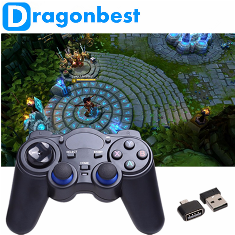 2017 New arrival 2.4G RF Wireless Gamepad play video games Sold on Alibaba Joystick & game control