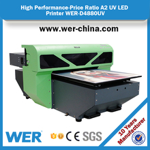 2017 new model A2 4880 model LED UV printer for ceramic and PVC card