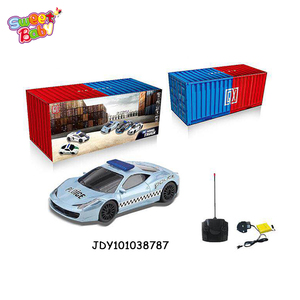 1:16 RC car 4 channel light music electric toy