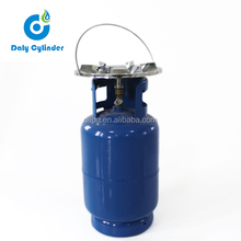 2.1MPa 12L CNG LPG Cylinder Manufacturer with Valve
