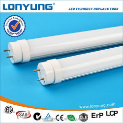 3 Years Warranty LM79 Qualified DLC 18W 22w smd3014 high lumen uv light tube led t8 tube9.