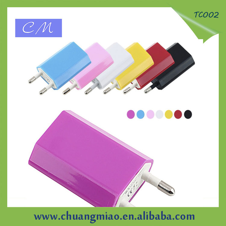 Promotional micro USB wall/travel/home charger for smart phone and tablet