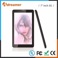"2016 new style 7"" touch screen android os 1.3ghz 3g tablet pc Manufacturer"