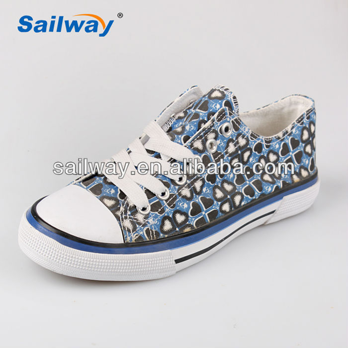clover leaf print casual shoes EU test certificate footwear