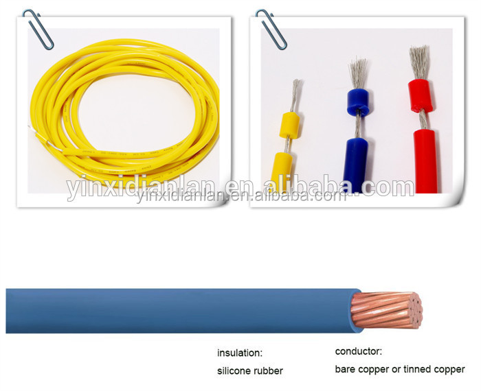 13.8KV Silicone Rubber Insulated High Voltage Motor Lead Cable