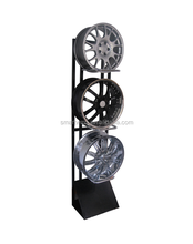 China High Quality Wholesale Steel Supermarket Car Tyre Display Stands