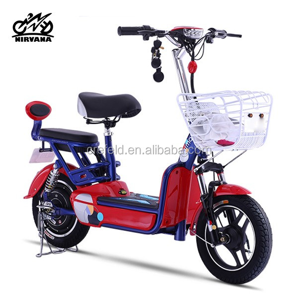 Hot cheap G6 48V12AH electric motorbike racing electric vehicle 350w motorcycle for WOMEN