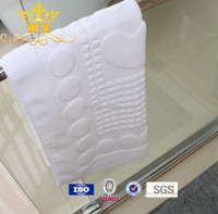 five-star hotel door mat toilet cotton bath mat rug with cheap price