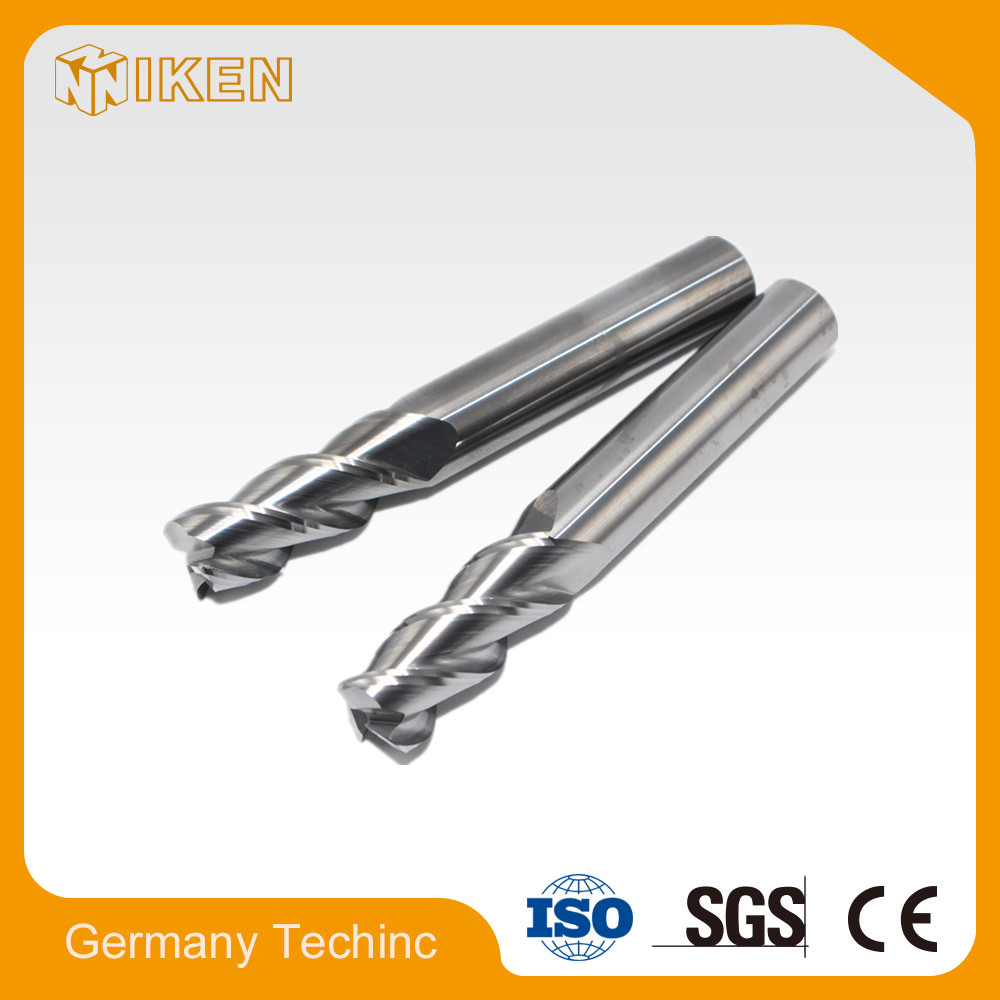 No coating carbide end mills cutting tools for cnc machine