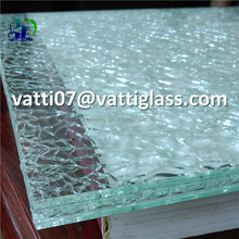 decorative tempered ice cracked glass crushed glass for crafts decoration
