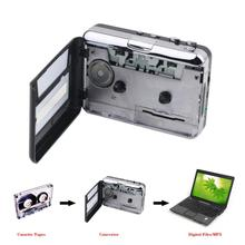 Portable USB Cassette Player Capture Cassette Recorder Converter Digital Audio Music Player