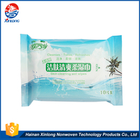 Hot Sale custom made nonwoven biodegradable non alcohol cheap wet wipes manufacturer wholesale