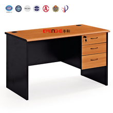 Movable Durable Study Computer Desk/Melamine design Modern Computer Table