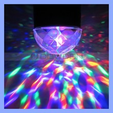 110V/220V RGB 3W Crystal Magic Ball Laser Stage Lighting for Party Disco DJ Bar Bulb Lighting Show