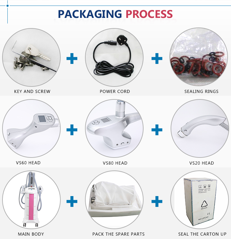 Vacuum roller body shaping facial beauty equipment VelaSlim slimming cellulite reduction slimming machine