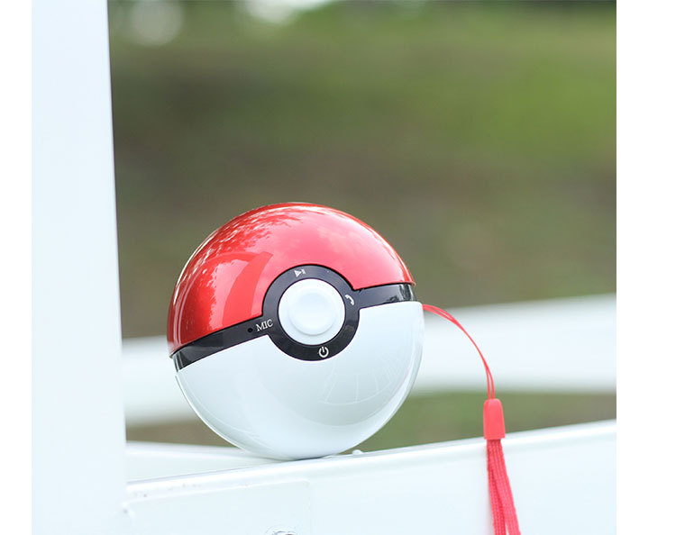 Ball shaped wireless <strong>speaker</strong> pokemon game <strong>speaker</strong>