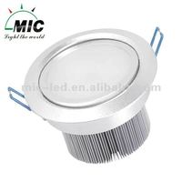 MIC 1 watt recessed led mini downlight
