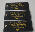 High quality customized hang tags for uniform