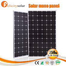 Factory price hot sale high quality monocrystalline sun power solar panel 250w with EMC certificate