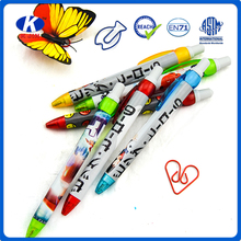 heat transfer printing plastic ballpen customized