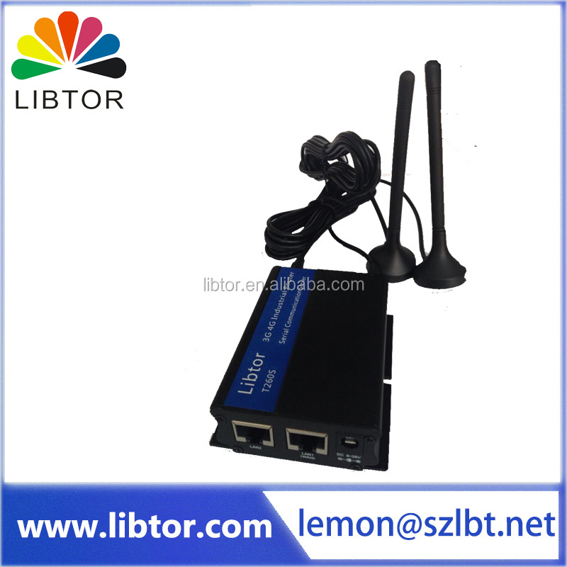 ATM POS industrial wireless 4g router for Street Lamp Wireless Monitoring System application