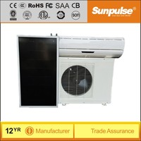Wall mounted hybrid solar air conditioner price 24000BTU AC 220V