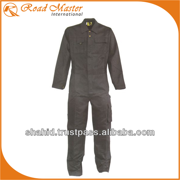 Poly Cotton Multi Pockets Working Coveralls