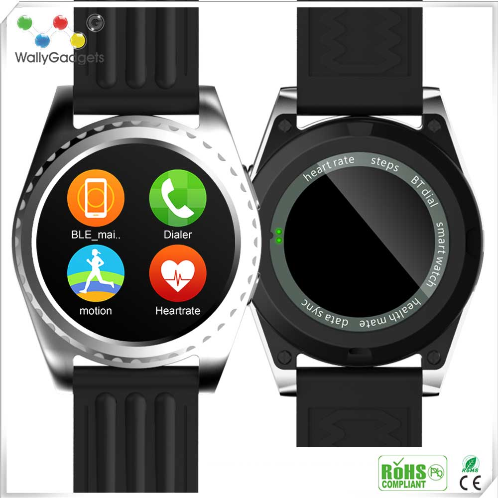 Factory Price Bluetooth Watch Manual Android And IOS Mobile Smart Watch Phones With SIM