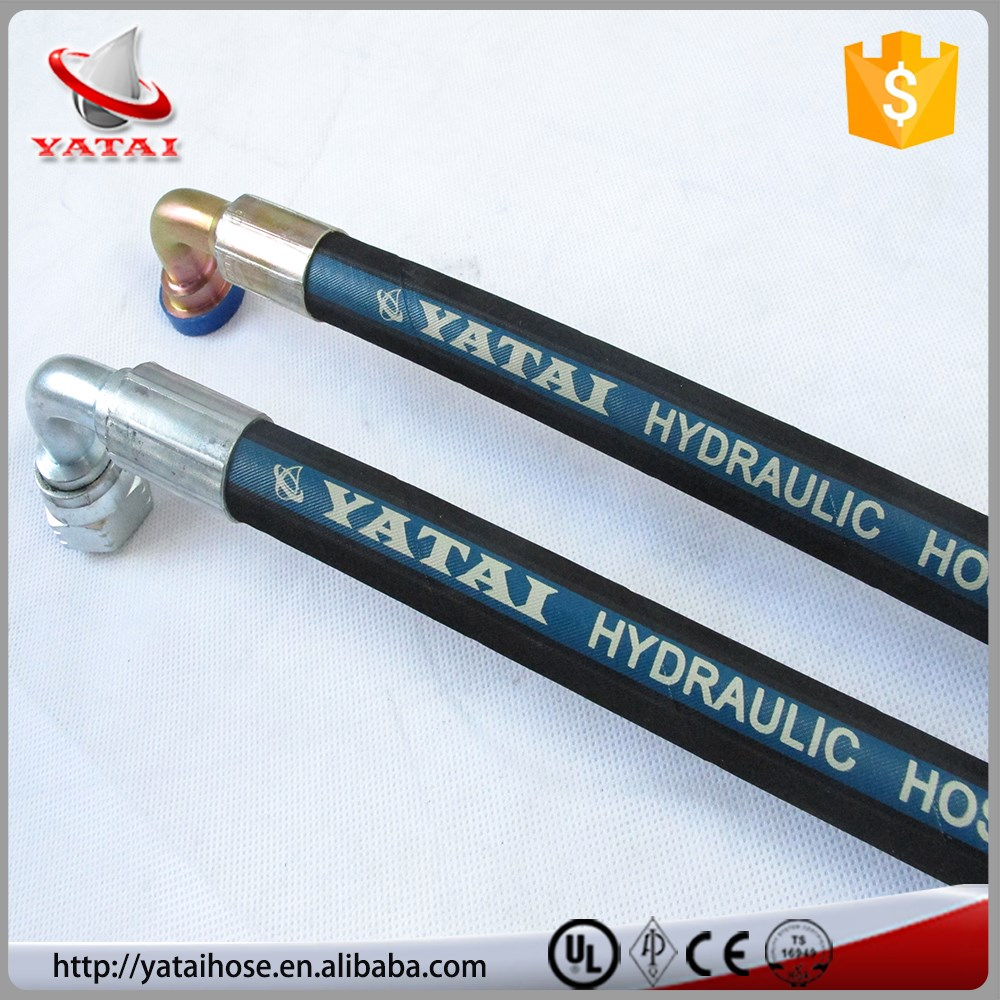 High Pressure Acid And Alkali Resistant R2 AT Hydraulic Hose Pipe