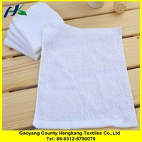 Thin Cotton Orange Home Face Hand Towel