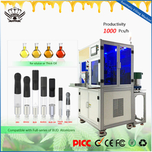 New products health care BUD series atomizers high production e liquid filling machine