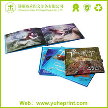 Fashion wholesale hot stamping hard cover book cheap grey wood board coffee table book printing