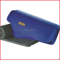 Polyester Fleece Portable Travel Blanket