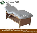 stationary massage table FMA206-1.2 white massage table bed