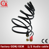 newing coming 1 to 2RCA 8 pin audio/ video cable
