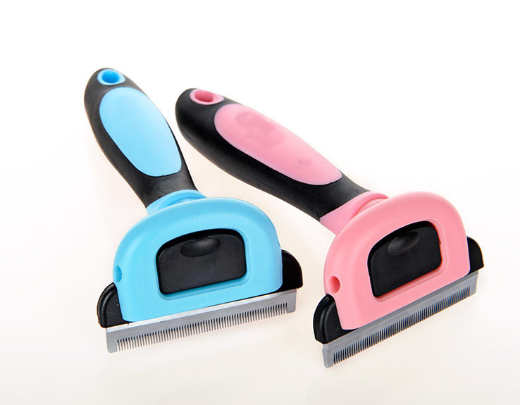 Wholesale Stainless steel Pet Dog Grooming brush,Pet hair removal brush