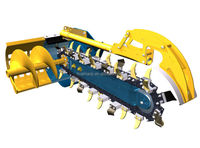 Chain trencher/ditcher/ditching machine/trench digger