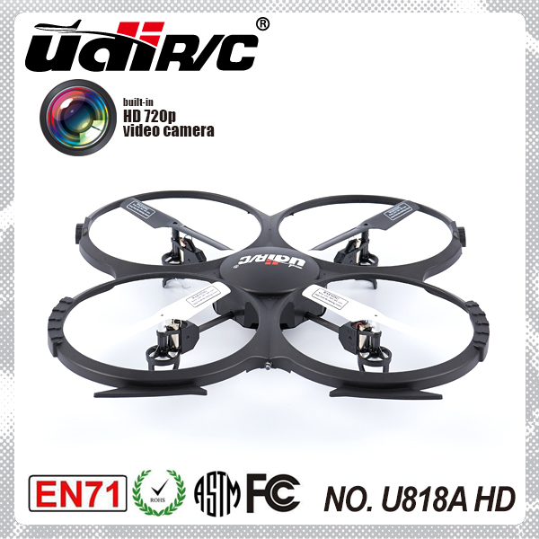 UDIRC 2.4Ghz 4 Channel 6 axis Aerial photograph remote control helicopter U818A HD