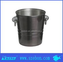 single walled stainless steel ice bucket/ wine cooler