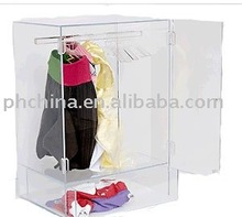 SPT-07 CLEAR ACRYLIC WARDROBE FOR PAMPERED PET