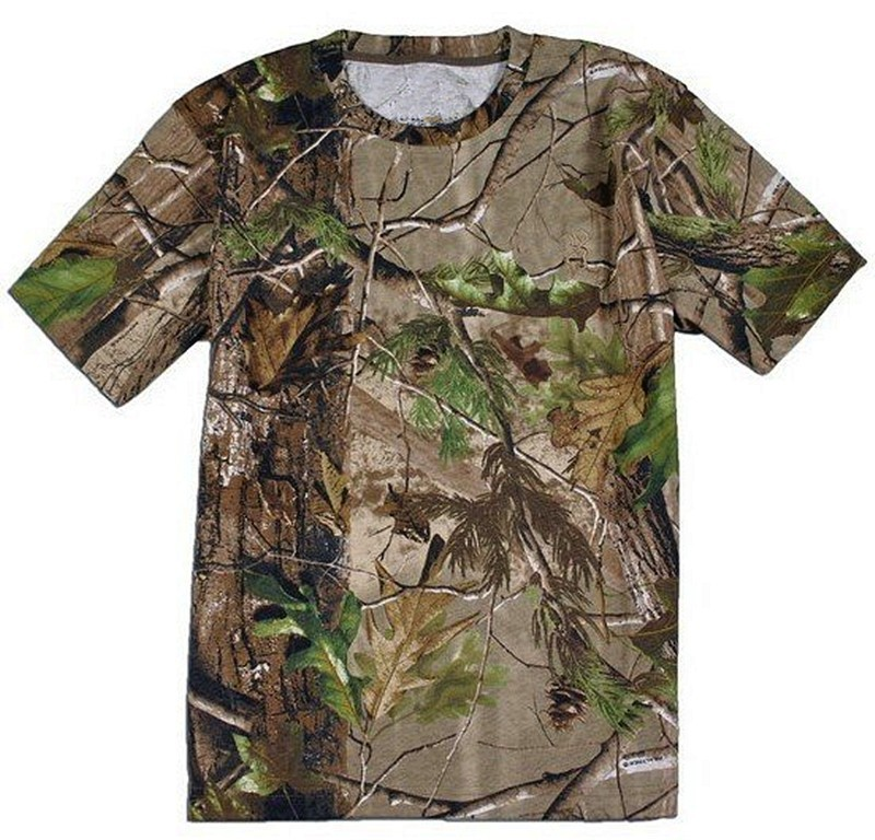 Wholesale Realtree Camouflage Hunting T Shirt Fast Dry