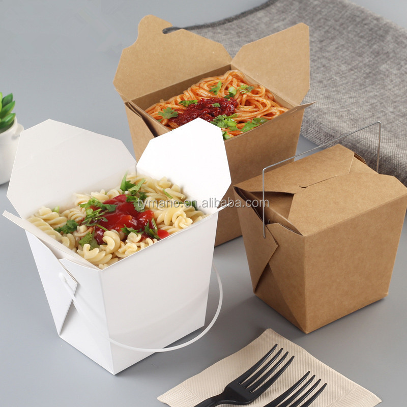 high quality recyclable lunch box heat packs packaging box