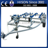 China leading PWC brand Hison yacht trailer